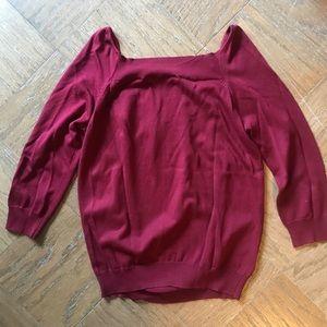 Joseph A. Sweaters - Joseph A. Silk Sweater